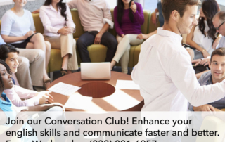 Join our Conversation Club!