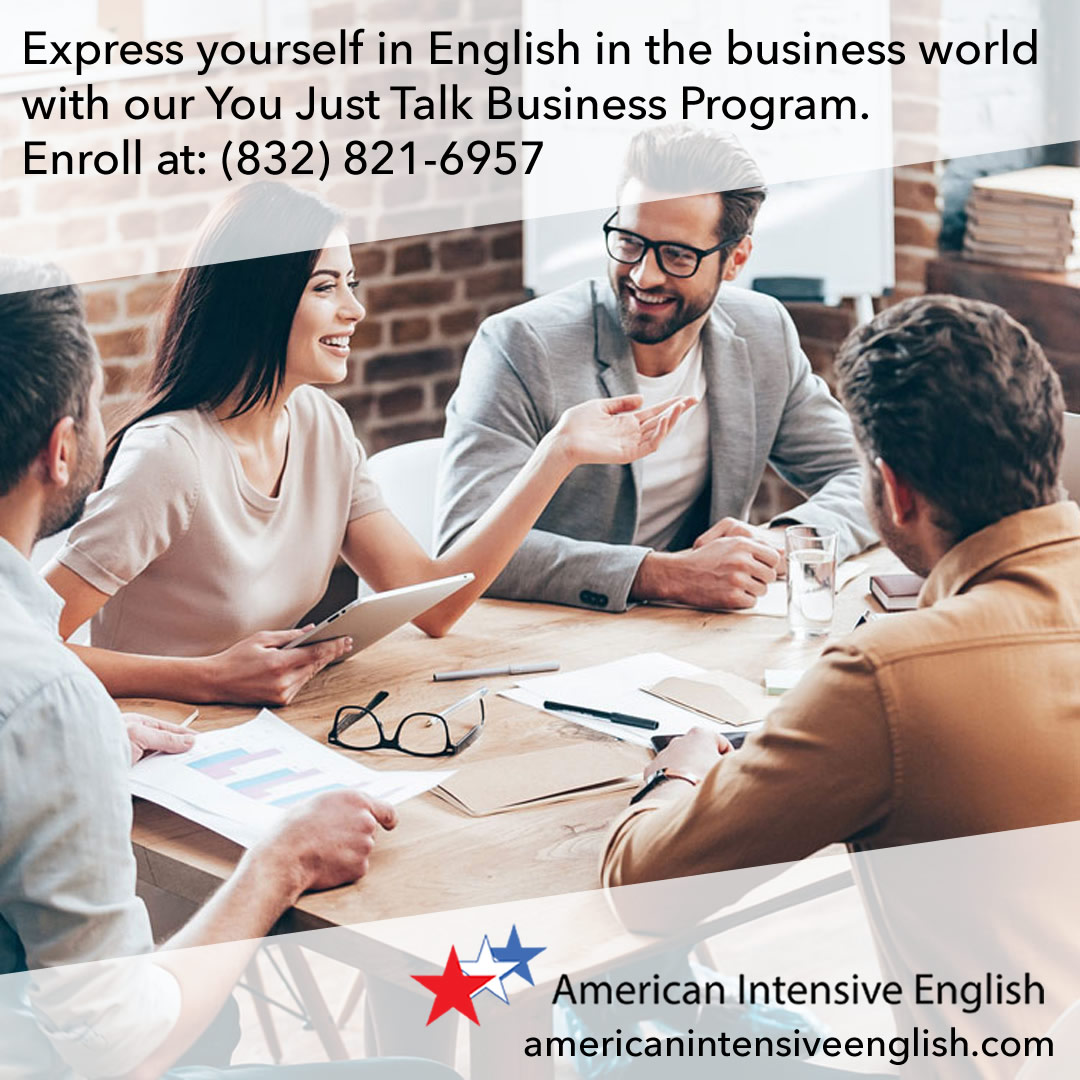 Express yourself in English in the business world.